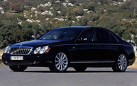 2009 Maybach 57, Front Left Quarter View, exterior, manufacturer
