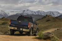2009 Nissan Frontier, Back Right Quarter View, exterior, manufacturer