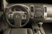 2009 Nissan Frontier, Interior Front View, interior, manufacturer