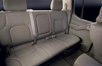 2009 Nissan Frontier, Interior Backseat View, interior, manufacturer