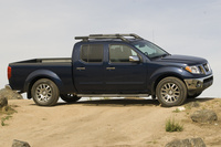 2009 Nissan Frontier, Right Side View, manufacturer, exterior