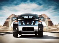 2009 Nissan Titan, Front View , exterior, manufacturer