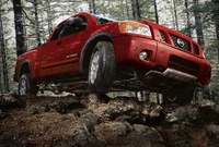 2009 Nissan Titan, Front Right Quarter View, manufacturer, exterior