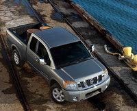 2009 Nissan Titan, Overhead View, exterior, manufacturer