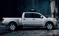 2009 Nissan Titan, Right Side View, manufacturer, exterior