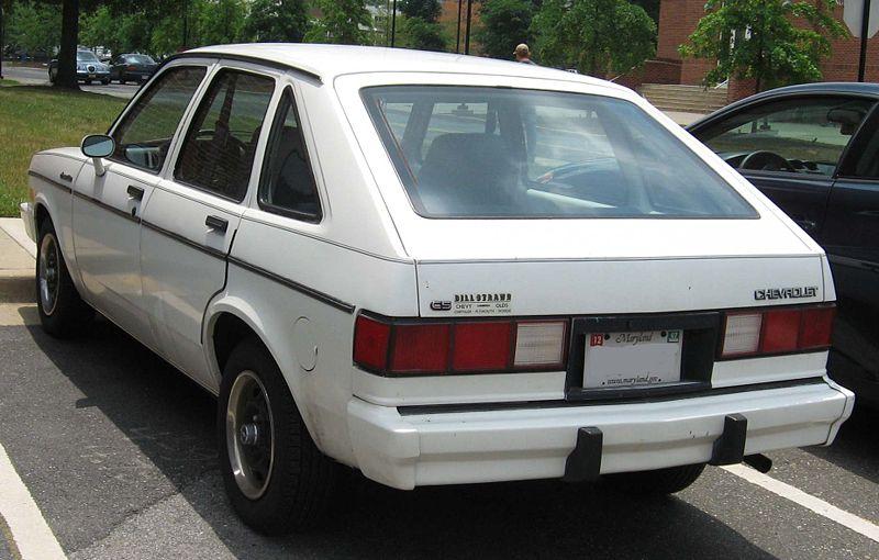 1984 Chevrolet Chevette - Pictures