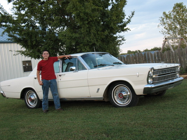 1966 Ford Galaxie, Me in front of my '66 Galaxie 500 352V8, 4 door hardtop., exterior, gallery_worthy