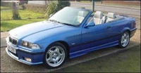 1998 BMW M3 Convertible, 1998 BMW M3 2 Dr STD Convertible picture, exterior