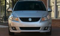 2009 Suzuki SX4 Base, Front View, exterior, manufacturer