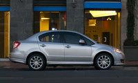 2009 Suzuki SX4 Base, Right Side, exterior, manufacturer