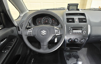2009 Suzuki SX4 Crossover Base, Interior Dash View, interior, manufacturer