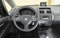 2009 Suzuki SX4 Crossover Base, Interior Dash View, interior, manufacturer
