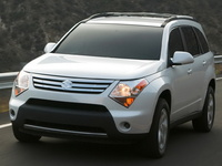 2009 Suzuki XL-7, Front Left Quarter View, exterior, manufacturer