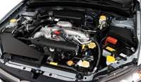 2009 Subaru Impreza, Engine View, manufacturer
