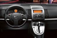2009 Nissan Sentra, Interior Dash View, interior, manufacturer