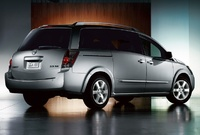 2009 Nissan Quest, Back Right Quarter View, manufacturer, exterior