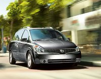 2009 Nissan Quest, Front Right Quarter View, exterior, manufacturer