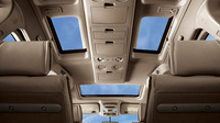 2009 Nissan Quest, Interior Sunroof View, manufacturer, interior