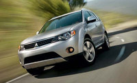 2009 Mitsubishi Outlander, Front Left Quarter View, exterior, manufacturer, gallery_worthy