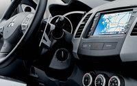 2009 Mitsubishi Outlander, Interior Dashboard View, interior, manufacturer