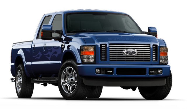 2009 Ford F-250 Super Duty, Front Right Quarter View, exterior, manufacturer