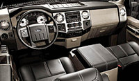 2009 Ford F-250 Super Duty, Interior Front View, interior, manufacturer