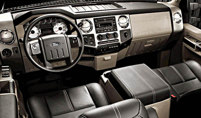 ford   super duty interior pictures cargurus