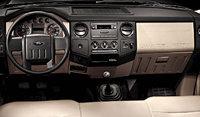 2009 Ford F-450 Super Duty, Interior Dash View, interior, manufacturer, gallery_worthy