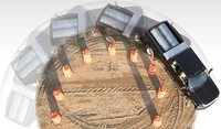 2009 Ford F-450 Super Duty, Overhead View, manufacturer, gallery_worthy