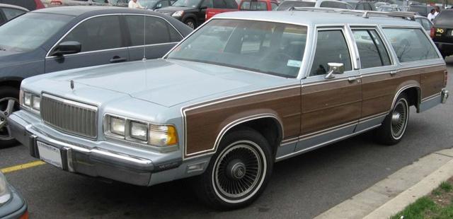Picture of 1989 Mercury Grand Marquis, exterior
