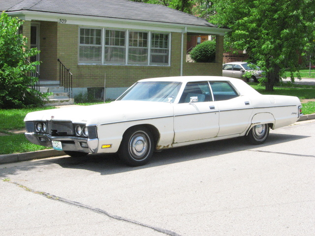This is the 1971 Mercury Monterey we own in front of our home in Rolla, MO.  This is the only one of it's kind in Rolla., exterior, gallery_worthy