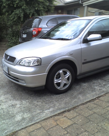 Picture of 2001 Holden Astra, exterior