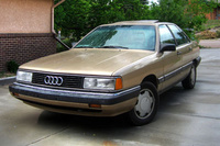 1989 Audi 5000 Overview