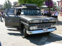 1961 Chevrolet Suburban Overview