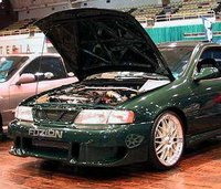 Picture of 1997 Nissan 200SX SE-R Coupe, exterior, engine