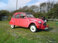 1984 Citroen 2CV Picture Gallery