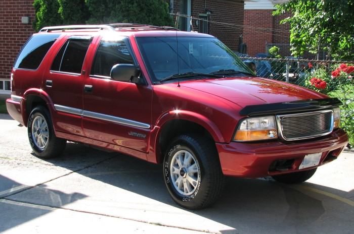 2000 GMC Jimmy 4 Dr SLT 4WD SUV picture