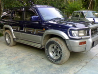 2002 Toyota Hilux Surf Overview