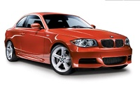 2009 BMW 1 Series, Front Right Quarter View, exterior, manufacturer