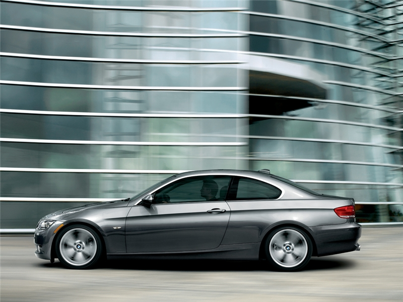 2009 BMW 3 Series 328i Coupe, Side View, exterior, manufacturer