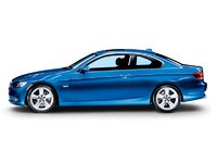 2009 BMW 3 Series 335i, Left Side View, exterior, manufacturer