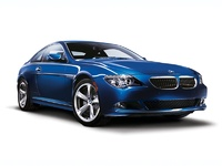 2009 BMW 6 Series 650i, Front Right Quarter View, exterior, manufacturer