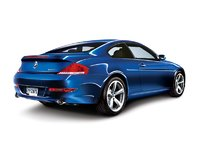 2009 BMW 6 Series 650i, Back Right View, exterior, manufacturer