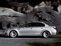 2009 BMW M5, Left Side View, exterior, manufacturer