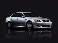 2009 BMW M5, Front Right Quarter View, manufacturer, exterior