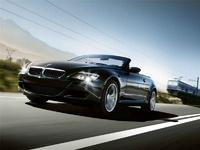 2009 BMW M6 Convertible, Front Left Quarter View, exterior, manufacturer