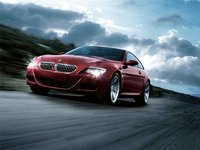 2009 BMW M6 Coupe, Front Left Quarter View, exterior, manufacturer