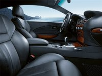 2009 BMW M6 Coupe, Interior Front View, interior, manufacturer