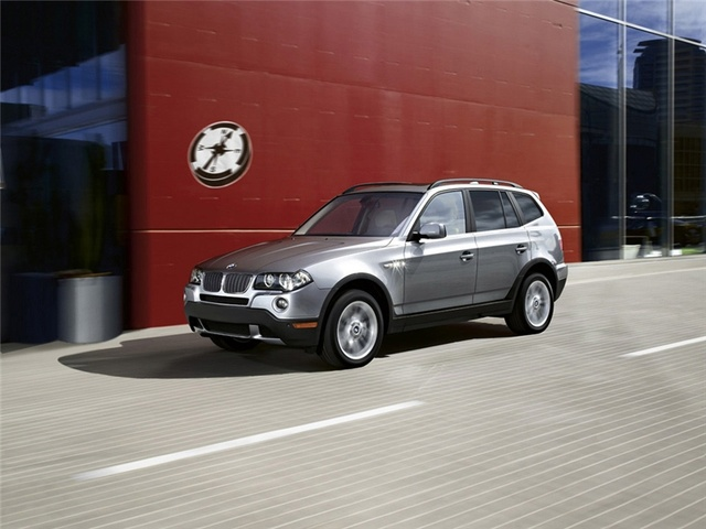 2009 BMW X3, Front Left Quarter View, exterior, manufacturer