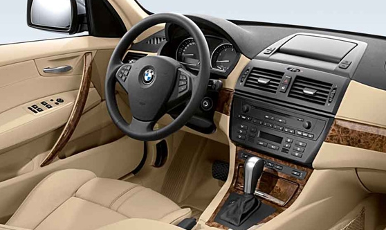 Top speedy Autos: BMW x3 interior Pictures